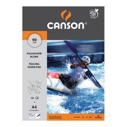 Pauszpapír Canson A/4 90/95g 10 lap/csomag