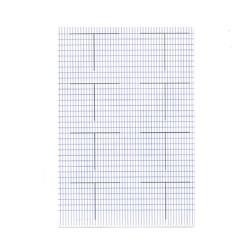 Rovatolt papír A/3 főkönyvi számlavázlat (akasztófa)
