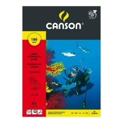 Fotókarton Canson A/3 160g színes 10 ív/csomag
