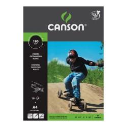 Fotókarton Canson A/4 fekete 10 ív/csomag