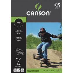 Fotókarton Canson A/4 160g színes 10 ív/csomag