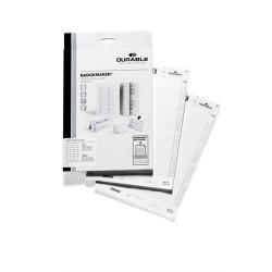 Névjegykártya karton Durable 4x6 cm 150 g fehér 360 ív/csomag