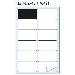 Etikett címke Pátria 76.2x46.4 mm kerekített sarkú