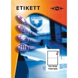 Etikett címke pd 210x148 mm szegély nélküli 100 ív 200 db/doboz