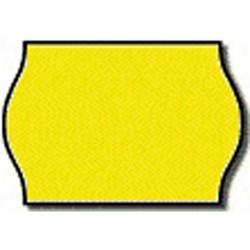 Árazószalag 25x16 mm sárga