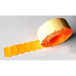 Árazószalag 25x16 mm neon narancssárga