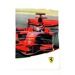 Füzet Trefl kisalakú 40 lapos kockás Ferrari