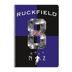 Spirálfüzet Clairefontaine Ruckfield A/4-50 lapos kockás 812141