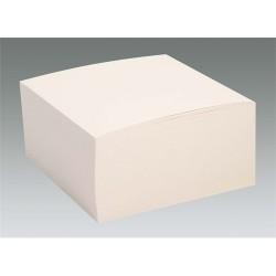 Kockatömb 10x10x5 cm fehér