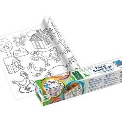 Kreatív öntapadós nyomott papír Info Creative 300 mm x 4 m unisex