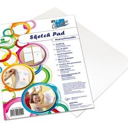 Kreatív öntapadós skicc lapok Info Creative A/4 25 ív/csomag