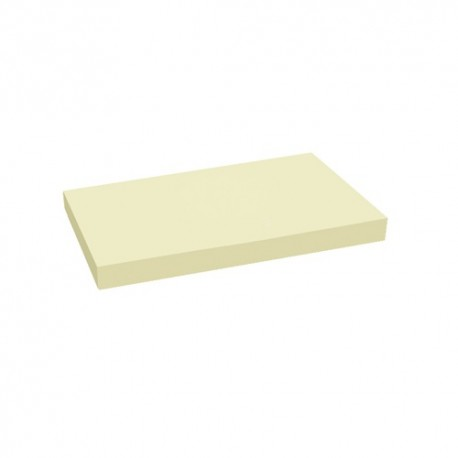 Öntapadós jegyzettömb Centrum 127x76 mm 100 lapos sárga