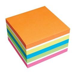 Öntapadós jegyzettömb Info Notes 75x75 mm 450 lapos élénk színek
