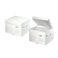 Archiváló konténer és szállítódoboz Leitz Infinity M méret savmentes fehér 61030000