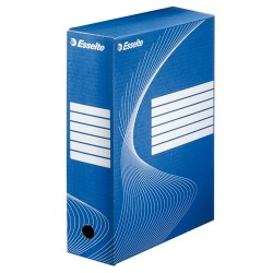 Archiváló doboz Esselte Boxycolor Vivida 10 cm gerinccel kék 128421