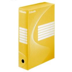 Archiváló doboz Esselte Boxycolor Vivida 10 cm gerinccel sárga 128423