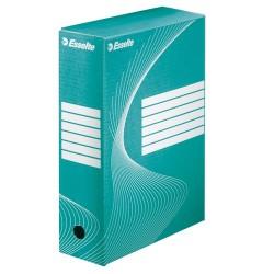 Archiváló doboz Esselte Boxycolor Vivida 10 cm gerinccel zöld 128424