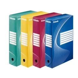Archiváló doboz Esselte Boxycolor Vivida 8 cm gerinccel kék 128411