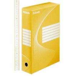 Archiváló doboz Esselte Boxycolor Vivida 8 cm gerinccel sárga 128413