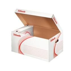 Archiváló konténer Esselte 540x254x360 mm felfelé nyíló tetővel fehér 128900