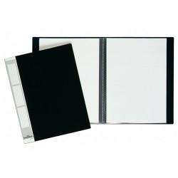 Bemutatómappa Durable Duralook A/4 20 részes fekete