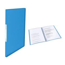 Bemutatómappa Esselte Vivida A/4 40 részes puha borítós kék 623997