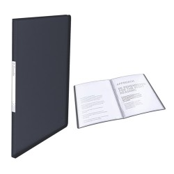 Bemutatómappa Esselte Vivida A/4 40 részes puha borítós fekete 623999