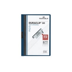 Clip-mappa Durable Duraclip A/4 30 lapig sötétkék