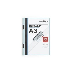 Clip-mappa Durable Duraclip A/4 60 lapig fehér