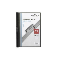 Clip-mappa Durable Duraclip A/4 60 lapig fekete