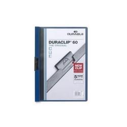 Clip-mappa Durable Duraclip A/4 60 lapig kék