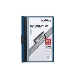 Clip-mappa Durable Duraclip A/4 60 lapig sötétkék