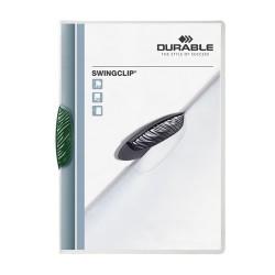 Clip-mappa Durable Swingclip A/4 30 lapig zöld