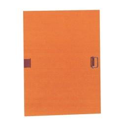Csatos irományfedél A/4 Exacompta narancssárga