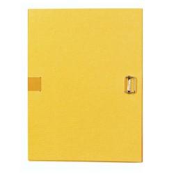 Csatos irományfedél A/4 Exacompta sárga