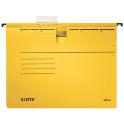 Függőmappa Leitz Alpha A/4 lefűzhető sárga