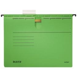Függőmappa Leitz Alpha A/4 lefűzhető zöld
