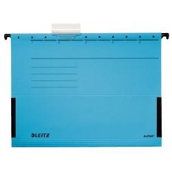 Függőmappa Leitz Alpha A/4 oldalt zárt kék 19860035