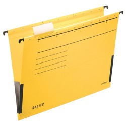 Függőmappa Leitz Alpha A/4 oldalt zárt sárga 19860115