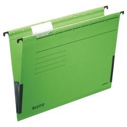 Függőmappa Leitz Alpha A/4 oldalt zárt zöld