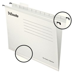 Függőmappa Esselte Pendaflex Standard A/4 V gerinc fehér 90319