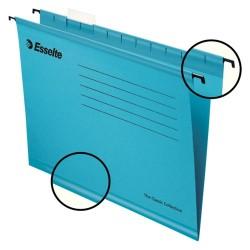 Függőmappa Esselte Pendaflex Standard A/4 V gerinc kék 90311