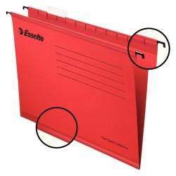 Függőmappa Esselte Pendaflex Standard A/4 V gerinc piros 90316