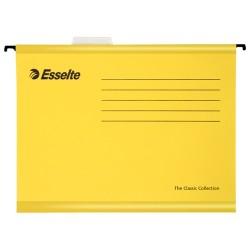 Függőmappa Esselte Pendaflex Standard A/4 V gerinc sárga 90314
