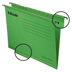 Függőmappa Esselte Pendaflex Standard A/4 V gerinc zöld 90318