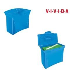 Függőmappatartó Esselte Europost Vivida mobil 15 db-os kék 623983