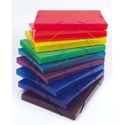 Füzetbox PP Centrum A/4 25 mm gerinccel vegyes színek