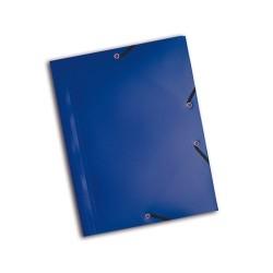 Gumis mappa PP Exacompta Opaque A/4 kék