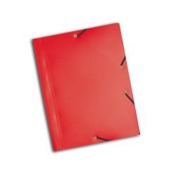 Gumis mappa PP Exacompta Opaque A/4 piros
