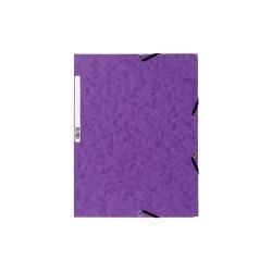 Gumis mappa karton Exacompta prespán A/4 lila